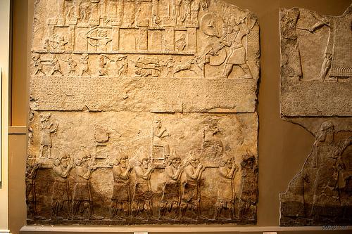 Beberapa contoh prasasti Assyria, zaman Sebelum Masehi.